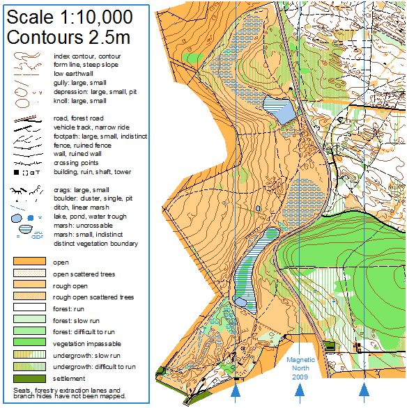 Control Descriptions and Map Specifications | Bristol