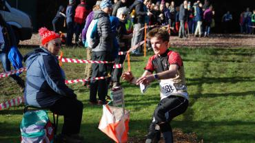 Orienteer Finishing